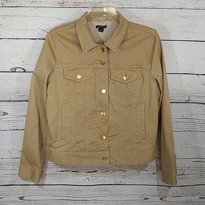 🔸Khaki Stretch Jacket